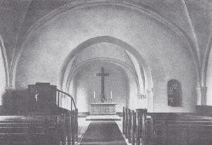 Kirche, Blick zum Altar, 1934 oder 1938