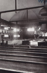 Kirche, Innenansicht, vor 1951