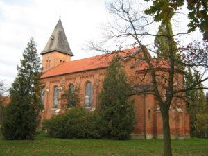 Kirche, Ansicht von Südosten, Foto: Ernst Günther Behn, Klein Gußborn, 2009 oder 2010