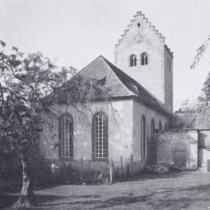 Kirche, Ansicht von Nordosten, 1936