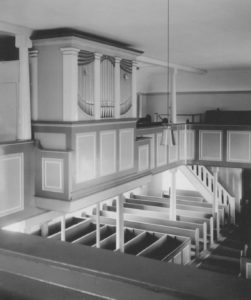Orgel, Foto: Ernst Witt, Hannover, September 1954