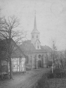Kapelle, Ansicht von Nordwesten, um 1900