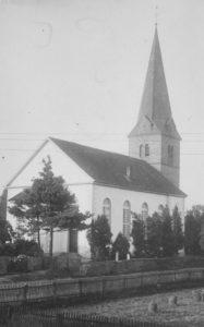 Kirche, Ansicht von Nordosten, 1960