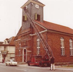 Kirche, Ansicht von Nordwesten, 1969
