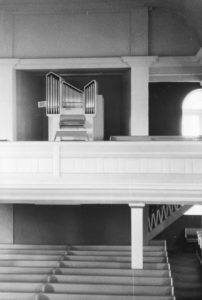 Kirche, Blick zur Orgel, nach 1975