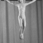 Altarkreuz, Postkarte, Foto: Photo Brants, Weener, um 1950