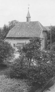 Kapelle, Außenansicht, 1951