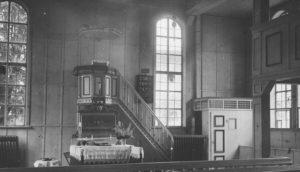 Kapelle, Blick zum Altar, 1951