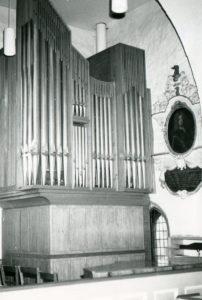 Orgel, Teilansicht, nach 1973, vor 1996