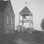 Glockenturm, Foto: Ernst Witt, Hannover, Mai 1954