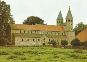 Klosterkirche, Ansicht von Nordosten, 1979