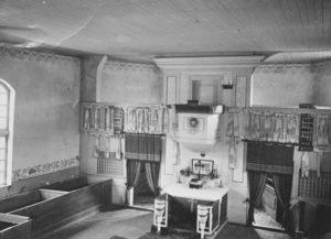 Kirche, Blick zum Altar, 1939
