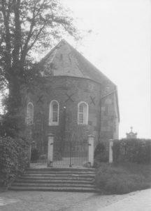 Kirche, Ansicht von Osten, um 1964