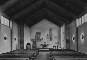 Krähenwinkel, Innenansicht Kirche