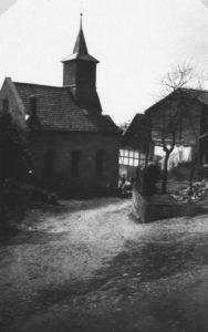 Kapelle, Ansicht von Nordosten, 1950