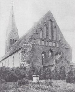 Kirche, Ansicht von Südosten, vor 1908