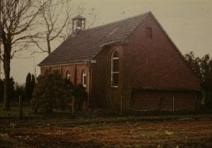 Kapelle, Außenansicht, vor 1980