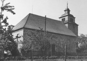 Kirche, Ansicht von Nordosten, um 1953