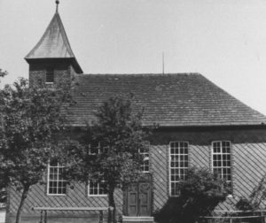 Kirche, Ansicht von Süden, 1953