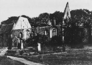 Kirche, Ansicht von Südosten, 1912
