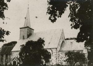 Kirche, Ansicht von Südosten, vor 1912