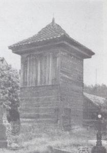 Glockenturm von 1838, 1933 oder 1936