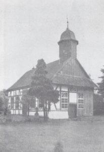 Kirche, Ansicht von Nordwesten, 1933 oder 1936