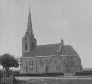 Kirche, Ansicht von Südosten, vor 1945