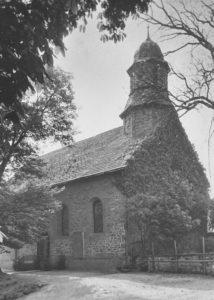 Kirche, Außenansicht, 1957