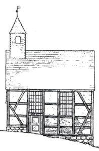 Alte Kapelle, Außenansicht, vor 1929