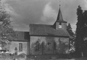 Kirche, Ansicht von Norden, um 1953