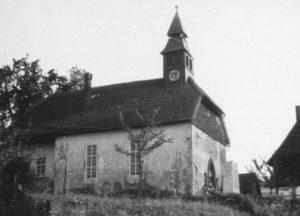 Kirche, Ansicht von Nordwesten, 1953