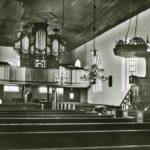 Kirche, Blick zur Orgel, vor 1960