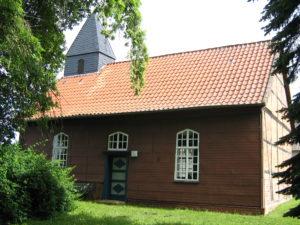 Kapelle, Ansicht von Südosten, Foto: Ernst Günther Behn, Klein Gußborn, 2009/ 2010