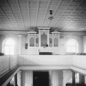 Kirche, Blick zur Orgel, 1966