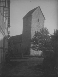 Kirche, Ansicht von Nordwesten, 1948
