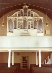 Blick zur Orgel, nach 1965