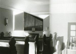Kirche, Blick zur Orgel, 1982