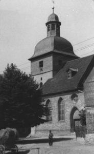 Kirche, Ansicht von Südwesten, 1950