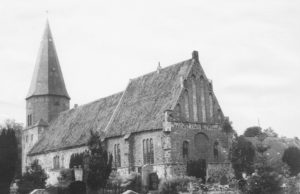 Kirche, Ansicht von Südosten, 1957 (?)