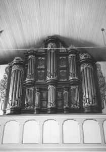 Orgel, Foto: Ernst Witt, Hannover, 1961