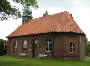 Drethem, Kirche, Ansicht von Südosten, Foto: Ernst Günther Behn, Klein Gußborn, 2009/ 2010