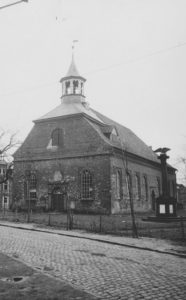 Neue Kirche, Ansicht von Südwesten, 1948