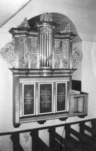 Orgel, vor 1978