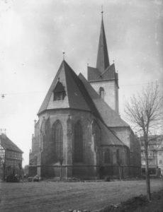 Kirche, Ansicht von Nordosten, nach 1928