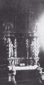 Altaraufsatz, vor 1915