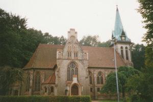Kirche, Ansicht von Norden, 1994