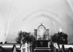 St. Johannis, Blick zum Altar, vor 1958