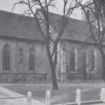 Kirche, Ansicht von Nordosten,1935