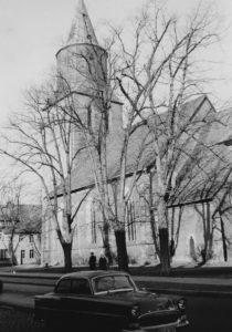 Kirche, Ansicht von Südosten, vor 1958